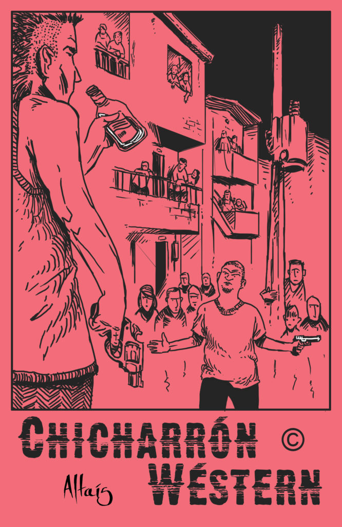 Cómic Chicharrón Wéstern # 1