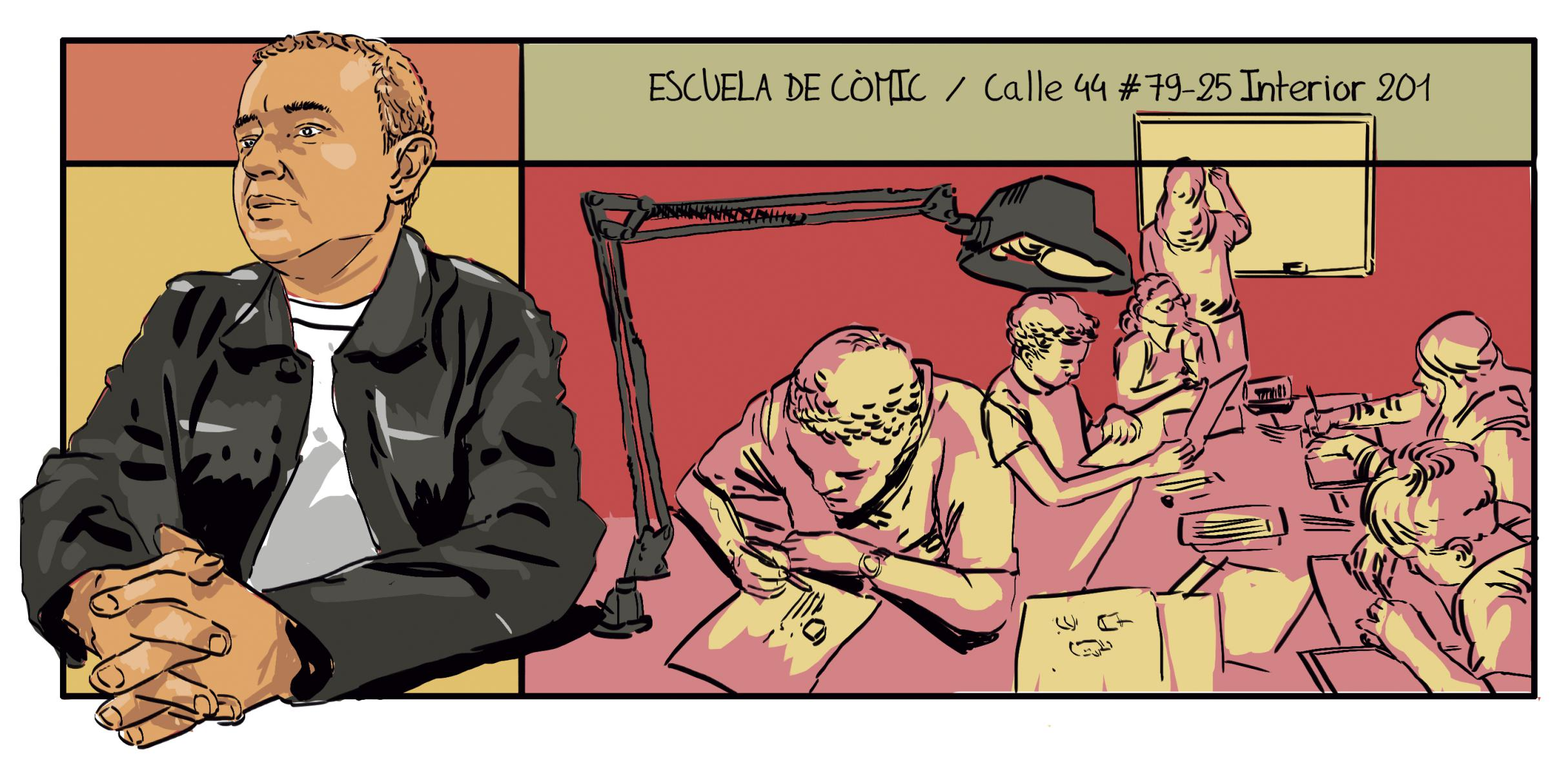 Comic dibujo Medellín Escuela de Comic Medellín