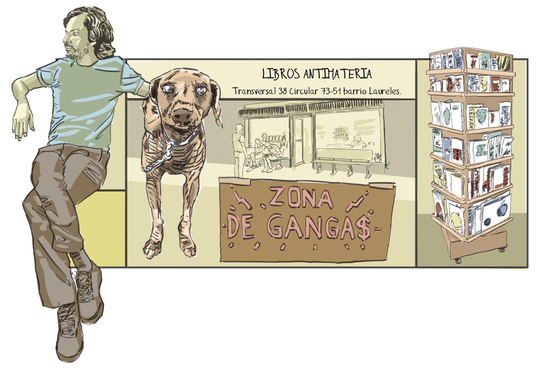 Comic y dibujo en medellín Libros antimateria