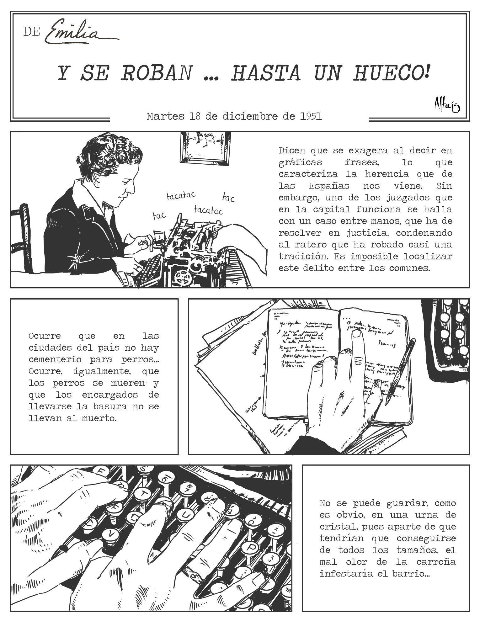 Comic Emilia Pardo Umaña