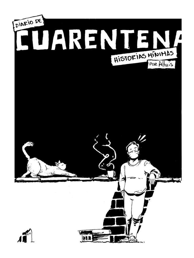 Cuarentena Diario Comic Altais Cómic Colombiano